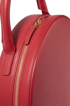 e45a41bb5c8 Mansur Gavriel - Circle Leather Tote - Red - one size Couro Vermelho