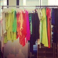 closet full of neon = my dream