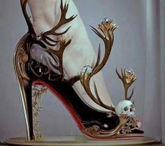 antler & skull pumps - [natalie shau]
