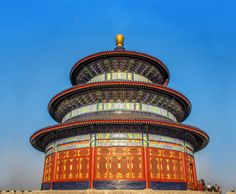 The imperial Temple of Heaven in Beijing's Tiantan Park.