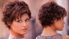Com - Hairstyle-Center.Com - Hair Beauty Short Haircut Styles, Haircuts For Curly Hair, Short Hair Styles Easy, Curly Hair Cuts, Cute Hairstyles For Short Hair, Curly Hair Styles, Pixie Hair, Bob Hairstyles, Short Thin Hair