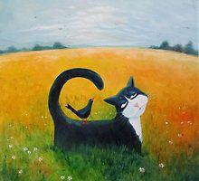 Blue Cat by Vicky Mount♥♥