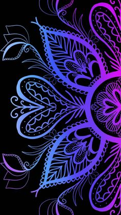 Mandala blue wallpaper by Kor4@rts archive - 417d - Free on ZEDGE™