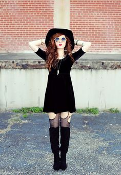 Coven. (I think I'm starting to fall for the whole wide-brimmed hat thing…