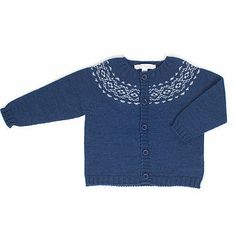 Fina Ejerique Baby Boy Wool Blend Knitted Cardigan £36.00 (or about $52.00)