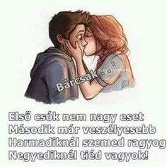 Első csók...