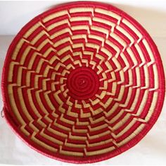 Amazon.com: Handcrafted Tribal Colorful Basket Set Handmade of Straw and Grass By Women of the Kaboja Women's Group of Uganda, East Africa Fruit Baskets: Everything Else