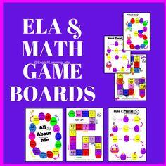 ELA & Math Board Games