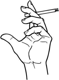 Hand Holding Cigarette Drawing, Holding Hands Drawing, Hands Holding Heart, Smoke Drawing, Smoke Painting, Cool Art Drawings, Art Drawings Sketches, Hand Kunst, Pencil Tattoo