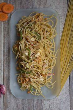 Spaghetti tres delicias fitness