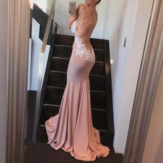 Mermaid Prom Dress,Backless Prom Dress,Fashion Prom Dress,Sexy Party