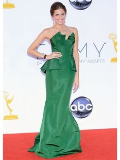 Allison Williams in Oscar de la Renta @OscarPRGirl