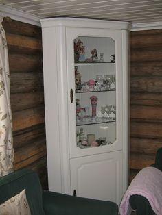 vitrine in huiskamer
