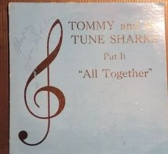 TOMMY AND THE TUNESHARKS Put It All Together AUTOGRAPHED GARAGE GROUP ROCK LP