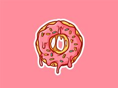 doughnut art design ~ doughnut art _ doughnut art for kids _ doughnut art project _ doughnut art design Donut Drawing, Cake Drawing, Line Art Design, Logo Design, Donut Logo, Desenho Pop Art, Simpsons Drawings, Drip Art, Cute Food Drawings