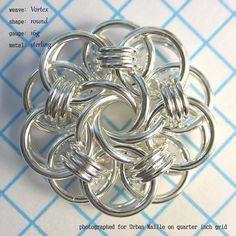 Vortex Medallion Tutorial | Urban Maille