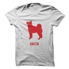 AKITA DOG T Shirts, Hoodies. Check price ==► https://www.sunfrog.com/Pets/AKITA-DOG.html?41382