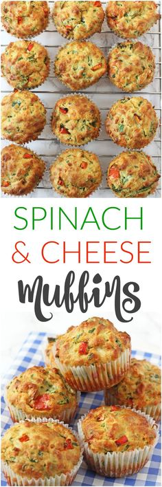 Delicious savoury muffins packed full of vegetables like spinach and peppers; pe… Delicious savoury muffins packed full of vegetables like spinach and peppers; perfect for a family lunch or a kids afternoon snack! Easy Meals For Kids, Kids Meals, Toddler Meals, Toddler Food, Ella Vegan, Baby Food Recipes, Cooking Recipes, Party Recipes, Muffin Recipes