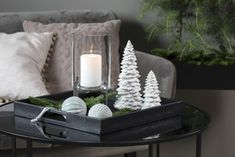 Winter Thema, Winter Diy, Christmas Decorations, Table Decorations, My New Room, White Christmas, Kos, Room Decor, Lounge