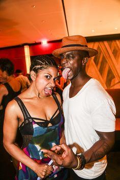 HEDWIG's Rebecca Naomi Jones & Taye Diggs rock out!