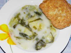 Moje detské príchute: Šalátová zeleninová polievka