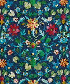 Liberty Art Fabrics Windrush D Tana Lawn Cotton | Fabrics | Liberty.co.uk