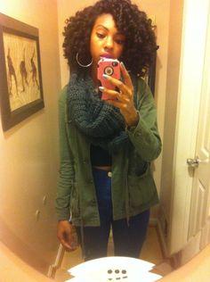Maya is Naturally Glam! | Curly Nikki | Natural Hair Styles and Natural Hair Care