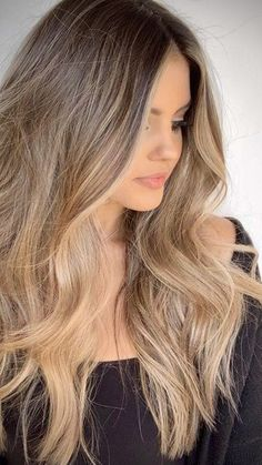 Balayage Blonde Ends - 20 Fabulous Brown Hair with Blonde Highlights Looks to Love - The Trending Hairstyle Golden Brown Hair, Brown Ombre Hair, Brown Hair Balayage, Brown Blonde Hair, Brown Hair With Highlights, Ombre Hair Color, Hair Color Balayage, Light Brown Hair, Brown Hair Colors