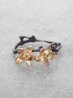 Jasmine Double Blossom Ring // Lunessa