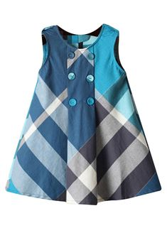 Little Baby Girls Long Sleeve Plaid Checked Princess Dress Material Baby Girl Dresses baby babydresses Checked dress Girls Long Material Plaid Princess Sleeve Girls Frock Design, Kids Frocks Design, Baby Frocks Designs, Baby Dress Design, Baby Girl Frocks, Frocks For Girls, Dresses Kids Girl, Kids Outfits, Baby Dresses