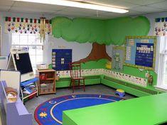 awesome preschool rooms | ... Preschool Classroom Decoration Design Amazing Ideas of Small Preschool