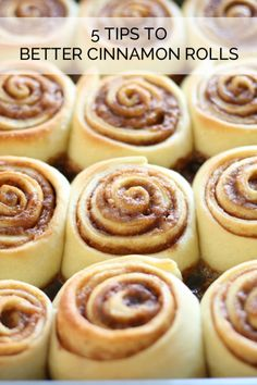 Cinnamon rolls are life's way of telling you that there is hope in the world. Although it's hard to improve on perfection, rumor has it that there are a few things you can do when baking homemade cinnamon rolls to make them even tastier than you ever thought possible. Tough to believe, to be sure, but one taste of these rolls will bring tears of joy to your eyes. Expel all doubts by reading this eBay guide and putting it into action.