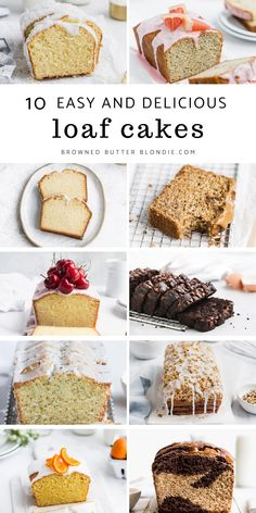 Quick Bread Recipes, Easy Cake Recipes, Easy Desserts, Sweet Recipes, Baking Recipes, Dessert Recipes, Best Vanilla Cake Recipe From Scratch, Cake Recipes From Scratch, Loaf Cake