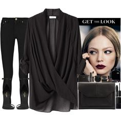 A fashion look from December 2013 featuring Helmut Lang blouses, MARC BY MARC JACOBS and Yves Saint Laurent sandals. Browse and shop related looks.