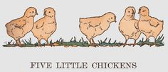 Five Little Chickens in time for Easter ill by L. Kate Deal by katinthecupboard, via Flickr