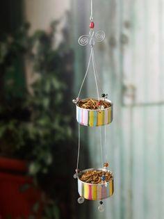 DIY Bird Feeder for Attracting Bluebirds