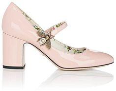 Gucci Women s Lois Patent Leather Mary Jane Pumps Scarpe Da Ginnastica  Rosa 16a54e8f2d7