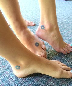 Forget me not flower tattoos