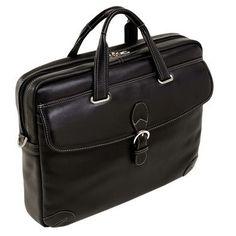Siamod Borella - stylová černá taška na notebook