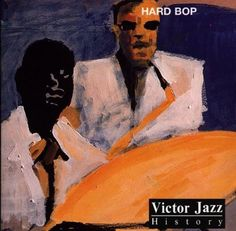 1997 Victor Jazz History Vol.14: Hard Bop [RCA 74321357332] cover painting by Alice Choné #albumcover