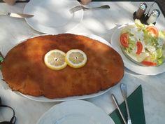 biggest Schnitzel I have ever seen