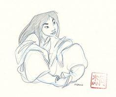 17 Pieces of Stunning Mulan Concept Art