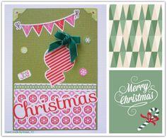 "Tarjeta de Navidad ""Merry Christmas"""