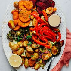 Oil-Free Roasted Vegetables | Minimalist Baker Recipes
