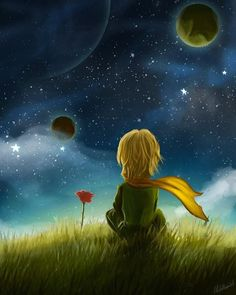 Goodbye scene by - Petit prince - Flower Little Prince Quotes, The Little Prince, Galaxy Wallpaper, Disney Wallpaper, Cute Wallpapers, Wallpaper Wallpapers, Cute Art, Fantasy Art, Anime Art