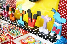 Mickey Mouse Disney Carnival Party- Amanda's Parties To Go