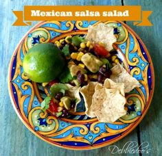 Mexican salsa salad - Debbiedoo's