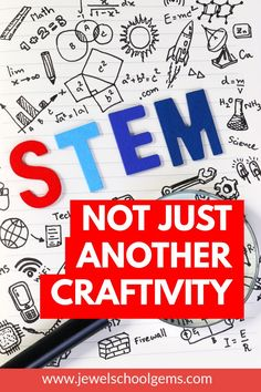STEM: NOT JUST ANOTHER CRAFTIVITY by Jewel's School Gems | Are you comfortable with STEM? Do you feel excited when implementing STEM lessons or does it feel like one more thing has been added to your plate? Worse yet, are you certain that your STEM activity is not just another craftivity? What will you need to ensure you are implementing a fun STEM activity for kids and not just another craft project? #stem #stemactivity