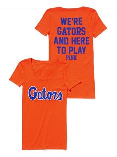 Shop the University of Florida college apparel collection and show your school spirit. Find cute college hoodies, sweatshirts, t-shirts, and more today at PINK! Fla Gators, Florida Gators College, Colleges In Florida, University Of Florida, Gator Basketball, Softball Mom, Florida Girl, College Hoodies, School Spirit