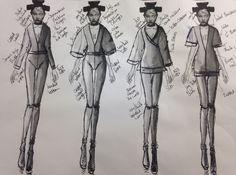 Board 8  #Japan #Samurai #AlexanderMcQueen #McQueen #Fashion #Illustration #FashionIllustration #Design #Project